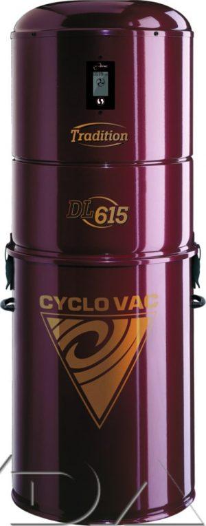 Centrale CYCLOVAC DL615