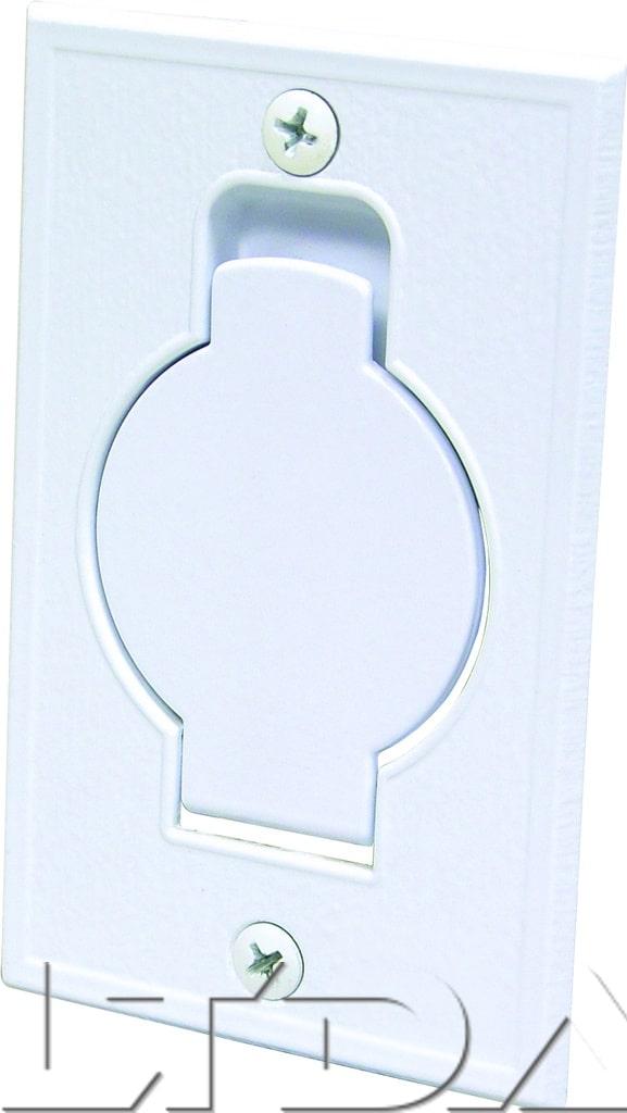 prise d 39 aspiration metal extra plate porte ronde. Black Bedroom Furniture Sets. Home Design Ideas